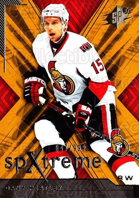 2007-08 SPx SPXtreme #36 Dany Heatley<br/>1 In Stock - $3.00 each - <a href=https://centericecollectibles.foxycart.com/cart?name=2007-08%20SPx%20SPXtreme%20%2336%20Dany%20Heatley...&quantity_max=1&price=$3.00&code=557923 class=foxycart> Buy it now! </a>