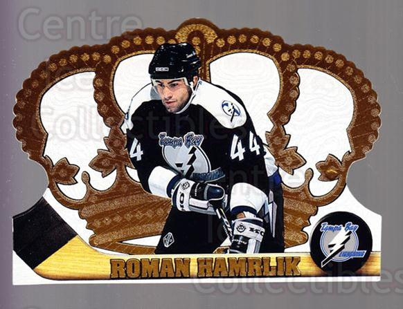 1997-98 Crown Royale #125 Roman Hamrlik<br/>5 In Stock - $1.00 each - <a href=https://centericecollectibles.foxycart.com/cart?name=1997-98%20Crown%20Royale%20%23125%20Roman%20Hamrlik...&quantity_max=5&price=$1.00&code=55793 class=foxycart> Buy it now! </a>