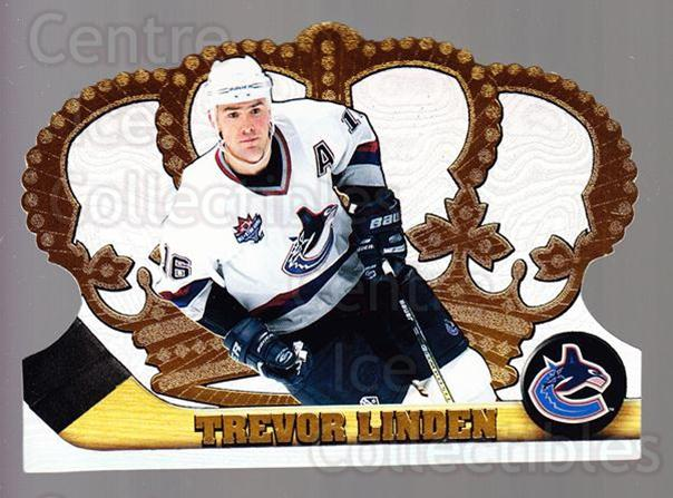 1997-98 Crown Royale #135 Trevor Linden<br/>4 In Stock - $1.00 each - <a href=https://centericecollectibles.foxycart.com/cart?name=1997-98%20Crown%20Royale%20%23135%20Trevor%20Linden...&quantity_max=4&price=$1.00&code=55803 class=foxycart> Buy it now! </a>