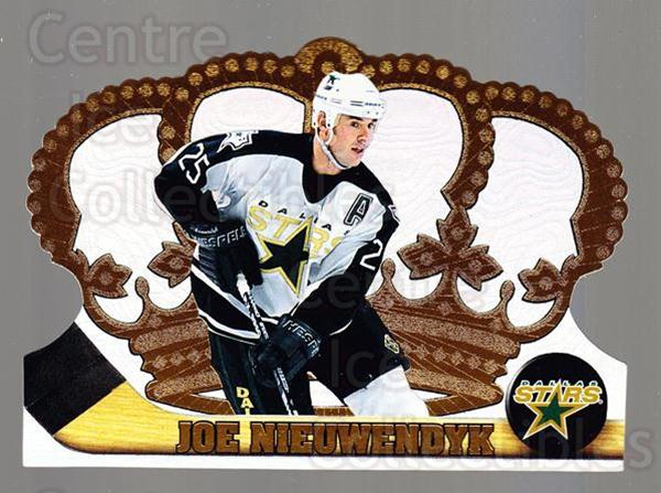 1997-98 Crown Royale #42 Joe Nieuwendyk<br/>5 In Stock - $1.00 each - <a href=https://centericecollectibles.foxycart.com/cart?name=1997-98%20Crown%20Royale%20%2342%20Joe%20Nieuwendyk...&quantity_max=5&price=$1.00&code=55840 class=foxycart> Buy it now! </a>