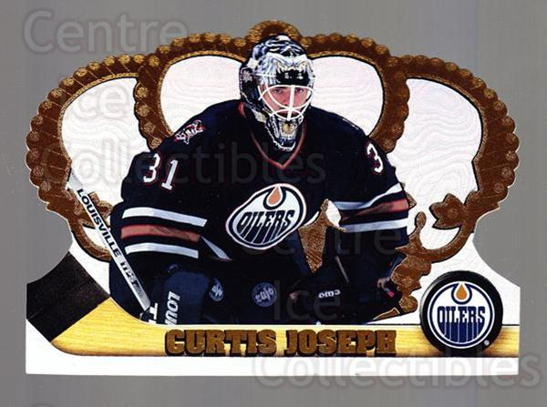 1997-98 Crown Royale #53 Curtis Joseph<br/>3 In Stock - $1.00 each - <a href=https://centericecollectibles.foxycart.com/cart?name=1997-98%20Crown%20Royale%20%2353%20Curtis%20Joseph...&quantity_max=3&price=$1.00&code=55848 class=foxycart> Buy it now! </a>