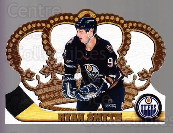 1997-98 Crown Royale #54 Ryan Smyth<br/>5 In Stock - $1.00 each - <a href=https://centericecollectibles.foxycart.com/cart?name=1997-98%20Crown%20Royale%20%2354%20Ryan%20Smyth...&quantity_max=5&price=$1.00&code=55849 class=foxycart> Buy it now! </a>