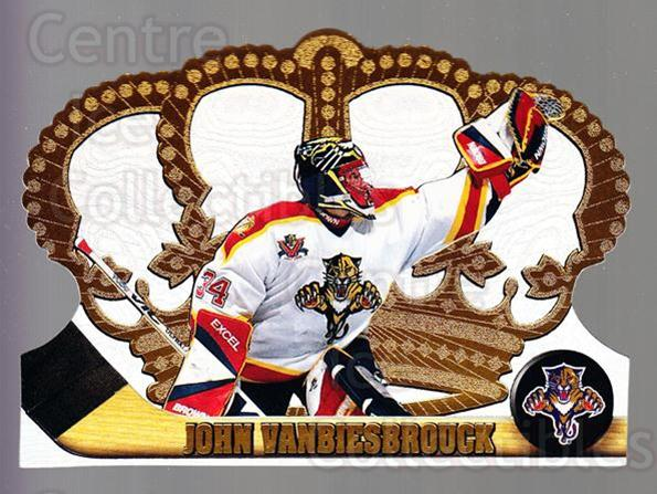 1997-98 Crown Royale #60 John Vanbiesbrouck<br/>1 In Stock - $1.00 each - <a href=https://centericecollectibles.foxycart.com/cart?name=1997-98%20Crown%20Royale%20%2360%20John%20Vanbiesbro...&quantity_max=1&price=$1.00&code=55856 class=foxycart> Buy it now! </a>