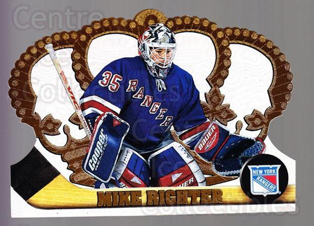1997-98 Crown Royale #87 Mike Richter<br/>4 In Stock - $1.00 each - <a href=https://centericecollectibles.foxycart.com/cart?name=1997-98%20Crown%20Royale%20%2387%20Mike%20Richter...&quantity_max=4&price=$1.00&code=55883 class=foxycart> Buy it now! </a>