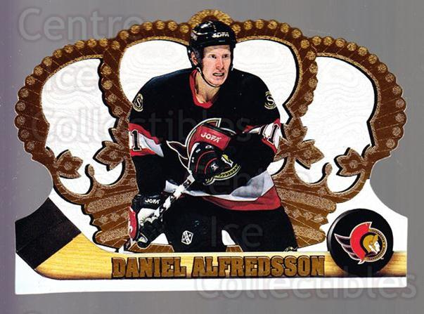 1997-98 Crown Royale #89 Daniel Alfredsson<br/>5 In Stock - $1.00 each - <a href=https://centericecollectibles.foxycart.com/cart?name=1997-98%20Crown%20Royale%20%2389%20Daniel%20Alfredss...&quantity_max=5&price=$1.00&code=55885 class=foxycart> Buy it now! </a>