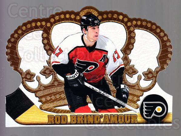 1997-98 Crown Royale #95 Rod Brind'Amour<br/>5 In Stock - $1.00 each - <a href=https://centericecollectibles.foxycart.com/cart?name=1997-98%20Crown%20Royale%20%2395%20Rod%20Brind'Amour...&quantity_max=5&price=$1.00&code=55892 class=foxycart> Buy it now! </a>