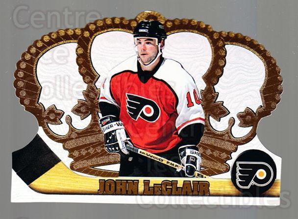 1997-98 Crown Royale #98 John LeClair<br/>5 In Stock - $1.00 each - <a href=https://centericecollectibles.foxycart.com/cart?name=1997-98%20Crown%20Royale%20%2398%20John%20LeClair...&quantity_max=5&price=$1.00&code=55895 class=foxycart> Buy it now! </a>