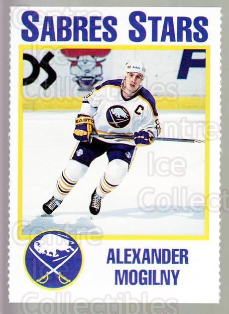 1993-94 Buffalo Sabres Noco #13 Alexander Mogilny<br/>6 In Stock - $3.00 each - <a href=https://centericecollectibles.foxycart.com/cart?name=1993-94%20Buffalo%20Sabres%20Noco%20%2313%20Alexander%20Mogil...&quantity_max=6&price=$3.00&code=5593 class=foxycart> Buy it now! </a>