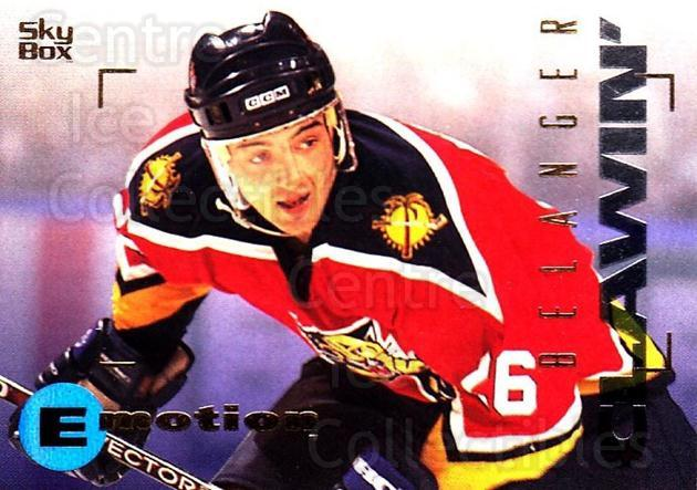 1995-96 Emotion #69 Jesse Belanger<br/>3 In Stock - $1.00 each - <a href=https://centericecollectibles.foxycart.com/cart?name=1995-96%20Emotion%20%2369%20Jesse%20Belanger...&quantity_max=3&price=$1.00&code=560420 class=foxycart> Buy it now! </a>