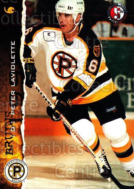 1996-97 Providence Bruins #15 Peter Laviolette<br/>6 In Stock - $3.00 each - <a href=https://centericecollectibles.foxycart.com/cart?name=1996-97%20Providence%20Bruins%20%2315%20Peter%20Laviolett...&price=$3.00&code=560601 class=foxycart> Buy it now! </a>