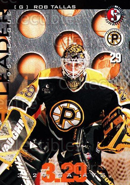 1996-97 Providence Bruins #22 Rob Tallas<br/>6 In Stock - $3.00 each - <a href=https://centericecollectibles.foxycart.com/cart?name=1996-97%20Providence%20Bruins%20%2322%20Rob%20Tallas...&price=$3.00&code=560608 class=foxycart> Buy it now! </a>