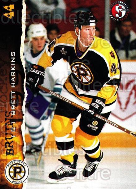 1996-97 Providence Bruins #23 Brett Harkins<br/>6 In Stock - $3.00 each - <a href=https://centericecollectibles.foxycart.com/cart?name=1996-97%20Providence%20Bruins%20%2323%20Brett%20Harkins...&price=$3.00&code=560609 class=foxycart> Buy it now! </a>