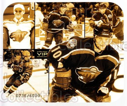 2003-04 ITG VIP Collage #8 Marian Gaborik<br/>1 In Stock - $5.00 each - <a href=https://centericecollectibles.foxycart.com/cart?name=2003-04%20ITG%20VIP%20Collage%20%238%20Marian%20Gaborik...&quantity_max=1&price=$5.00&code=560952 class=foxycart> Buy it now! </a>