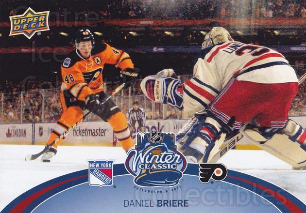 2012-13 Upper Deck Winter Classic Jumbos #4 Daniel Briere<br/>2 In Stock - $5.00 each - <a href=https://centericecollectibles.foxycart.com/cart?name=2012-13%20Upper%20Deck%20Winter%20Classic%20Jumbos%20%234%20Daniel%20Briere...&quantity_max=2&price=$5.00&code=561380 class=foxycart> Buy it now! </a>
