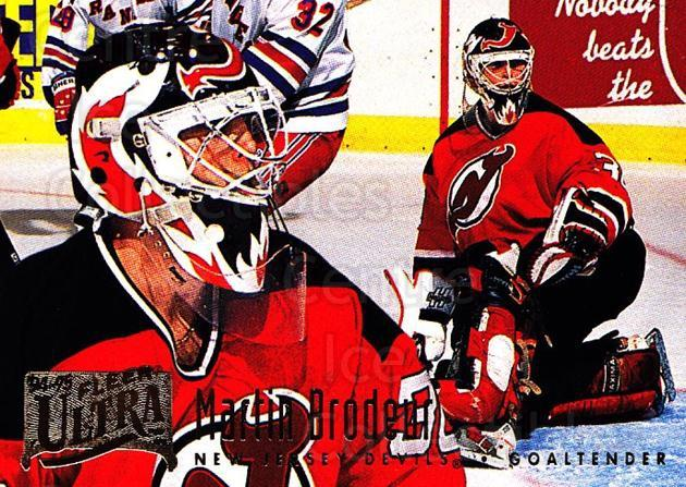 1994-95 Ultra #115 Martin Brodeur<br/>1 In Stock - $2.00 each - <a href=https://centericecollectibles.foxycart.com/cart?name=1994-95%20Ultra%20%23115%20Martin%20Brodeur...&price=$2.00&code=561395 class=foxycart> Buy it now! </a>