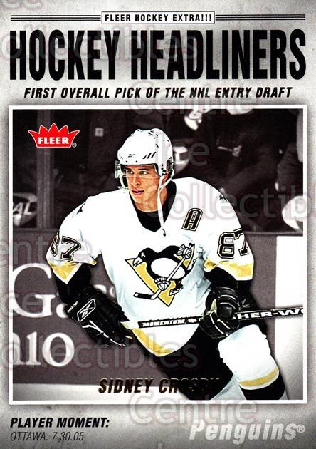 2006-07 Fleer Hockey Headliners #15 Sidney Crosby<br/>1 In Stock - $5.00 each - <a href=https://centericecollectibles.foxycart.com/cart?name=2006-07%20Fleer%20Hockey%20Headliners%20%2315%20Sidney%20Crosby...&quantity_max=1&price=$5.00&code=561465 class=foxycart> Buy it now! </a>