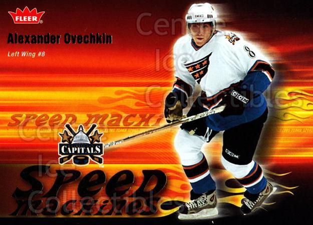 2006-07 Fleer Speed Machines #25 Alexander Ovechkin<br/>1 In Stock - $3.00 each - <a href=https://centericecollectibles.foxycart.com/cart?name=2006-07%20Fleer%20Speed%20Machines%20%2325%20Alexander%20Ovech...&price=$3.00&code=561478 class=foxycart> Buy it now! </a>