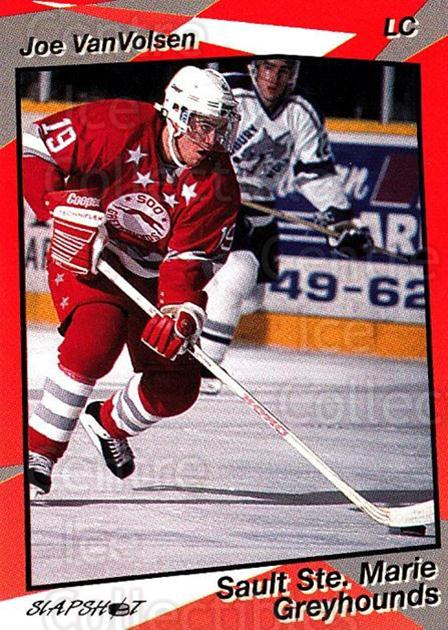 1993-94 Sault Ste. Marie Greyhounds #17 Joe VanVolsen<br/>1 In Stock - $3.00 each - <a href=https://centericecollectibles.foxycart.com/cart?name=1993-94%20Sault%20Ste.%20Marie%20Greyhounds%20%2317%20Joe%20VanVolsen...&quantity_max=1&price=$3.00&code=5617 class=foxycart> Buy it now! </a>