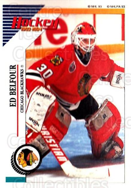 1993-94 Panini Stickers #155 Ed Belfour<br/>2 In Stock - $1.00 each - <a href=https://centericecollectibles.foxycart.com/cart?name=1993-94%20Panini%20Stickers%20%23155%20Ed%20Belfour...&price=$1.00&code=5622 class=foxycart> Buy it now! </a>