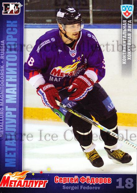 2010-11 Russian KHL #L14 Sergei Fedorov<br/>2 In Stock - $3.00 each - <a href=https://centericecollectibles.foxycart.com/cart?name=2010-11%20Russian%20KHL%20%23L14%20Sergei%20Fedorov...&price=$3.00&code=562391 class=foxycart> Buy it now! </a>