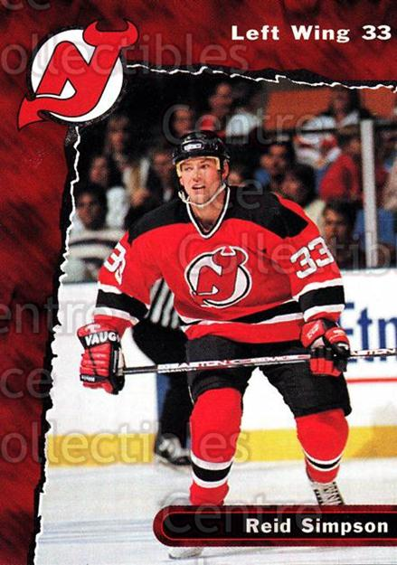 1997-98 New Jersey Devils Team Issue #26 Reid Simpson<br/>5 In Stock - $3.00 each - <a href=https://centericecollectibles.foxycart.com/cart?name=1997-98%20New%20Jersey%20Devils%20Team%20Issue%20%2326%20Reid%20Simpson...&quantity_max=5&price=$3.00&code=56240 class=foxycart> Buy it now! </a>