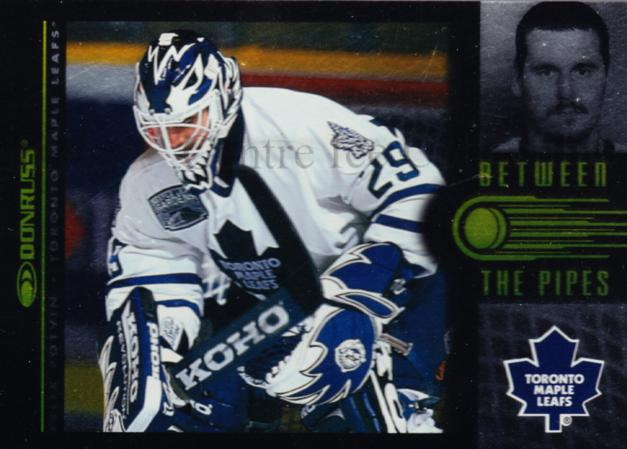1997-98 Donruss Between The Pipes #9 Felix Potvin<br/>1 In Stock - $5.00 each - <a href=https://centericecollectibles.foxycart.com/cart?name=1997-98%20Donruss%20Between%20The%20Pipes%20%239%20Felix%20Potvin...&quantity_max=1&price=$5.00&code=56250 class=foxycart> Buy it now! </a>