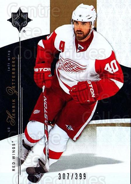 2009-10 UD Ultimate Collection #22 Henrik Zetterberg<br/>1 In Stock - $5.00 each - <a href=https://centericecollectibles.foxycart.com/cart?name=2009-10%20UD%20Ultimate%20Collection%20%2322%20Henrik%20Zetterbe...&quantity_max=1&price=$5.00&code=563277 class=foxycart> Buy it now! </a>