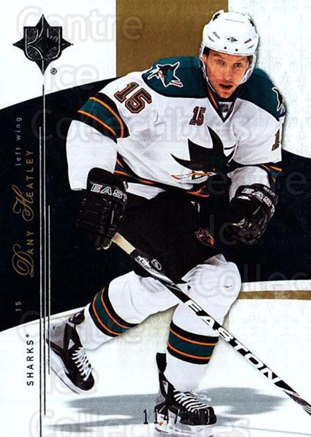 2009-10 UD Ultimate Collection #33 Dany Heatley<br/>1 In Stock - $5.00 each - <a href=https://centericecollectibles.foxycart.com/cart?name=2009-10%20UD%20Ultimate%20Collection%20%2333%20Dany%20Heatley...&quantity_max=1&price=$5.00&code=563288 class=foxycart> Buy it now! </a>