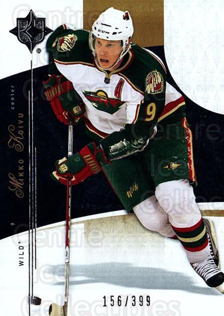 2009-10 UD Ultimate Collection #59 Mikko Koivu<br/>1 In Stock - $5.00 each - <a href=https://centericecollectibles.foxycart.com/cart?name=2009-10%20UD%20Ultimate%20Collection%20%2359%20Mikko%20Koivu...&quantity_max=1&price=$5.00&code=563314 class=foxycart> Buy it now! </a>