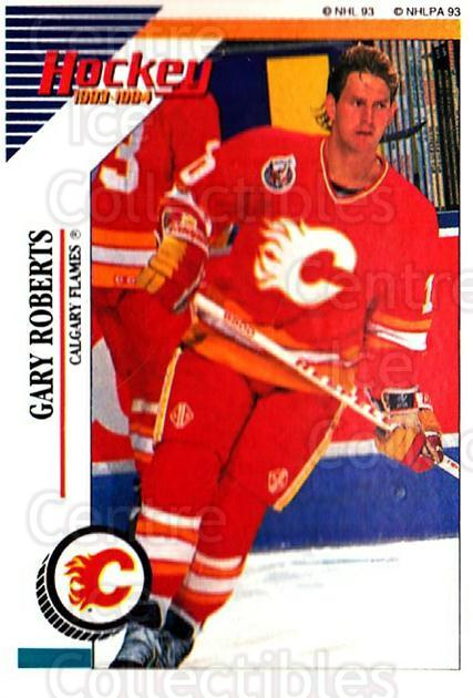 1993-94 Panini Stickers #181 Gary Roberts<br/>5 In Stock - $1.00 each - <a href=https://centericecollectibles.foxycart.com/cart?name=1993-94%20Panini%20Stickers%20%23181%20Gary%20Roberts...&quantity_max=5&price=$1.00&code=5651 class=foxycart> Buy it now! </a>
