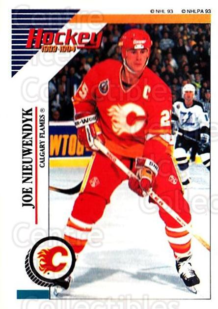 1993-94 Panini Stickers #182 Joe Nieuwendyk<br/>6 In Stock - $1.00 each - <a href=https://centericecollectibles.foxycart.com/cart?name=1993-94%20Panini%20Stickers%20%23182%20Joe%20Nieuwendyk...&quantity_max=6&price=$1.00&code=5652 class=foxycart> Buy it now! </a>