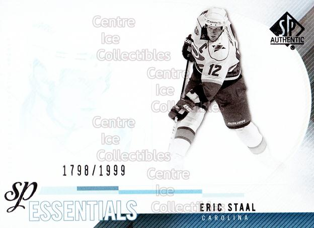 2010-11 Sp Authentic #179 Eric Staal<br/>2 In Stock - $2.00 each - <a href=https://centericecollectibles.foxycart.com/cart?name=2010-11%20Sp%20Authentic%20%23179%20Eric%20Staal...&quantity_max=2&price=$2.00&code=566056 class=foxycart> Buy it now! </a>