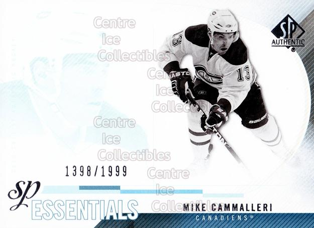 2010-11 Sp Authentic #188 Mike Cammalleri<br/>2 In Stock - $2.00 each - <a href=https://centericecollectibles.foxycart.com/cart?name=2010-11%20Sp%20Authentic%20%23188%20Mike%20Cammalleri...&quantity_max=2&price=$2.00&code=566065 class=foxycart> Buy it now! </a>