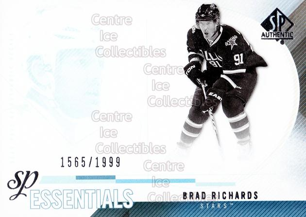 2010-11 Sp Authentic #191 Brad Richards<br/>3 In Stock - $2.00 each - <a href=https://centericecollectibles.foxycart.com/cart?name=2010-11%20Sp%20Authentic%20%23191%20Brad%20Richards...&quantity_max=3&price=$2.00&code=566068 class=foxycart> Buy it now! </a>