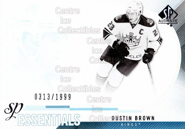 2010-11 Sp Authentic #194 Dustin Brown<br/>2 In Stock - $2.00 each - <a href=https://centericecollectibles.foxycart.com/cart?name=2010-11%20Sp%20Authentic%20%23194%20Dustin%20Brown...&quantity_max=2&price=$2.00&code=566071 class=foxycart> Buy it now! </a>