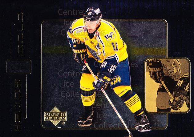 1999-00 Swedish Upper Deck Hands of Gold #7 Peter Ekelund<br/>1 In Stock - $3.00 each - <a href=https://centericecollectibles.foxycart.com/cart?name=1999-00%20Swedish%20Upper%20Deck%20Hands%20of%20Gold%20%237%20Peter%20Ekelund...&price=$3.00&code=566307 class=foxycart> Buy it now! </a>