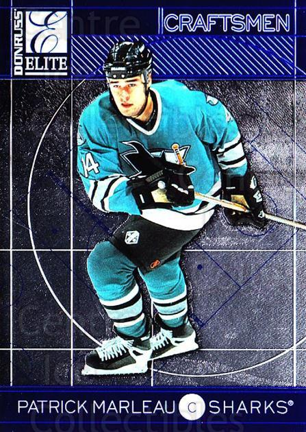 1997-98 Donruss Elite Craftsmen #11 Patrick Marleau<br/>6 In Stock - $3.00 each - <a href=https://centericecollectibles.foxycart.com/cart?name=1997-98%20Donruss%20Elite%20Craftsmen%20%2311%20Patrick%20Marleau...&quantity_max=6&price=$3.00&code=56659 class=foxycart> Buy it now! </a>