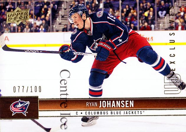 2012-13 Upper Deck UD Exclusives #52 Ryan Johansen<br/>1 In Stock - $5.00 each - <a href=https://centericecollectibles.foxycart.com/cart?name=2012-13%20Upper%20Deck%20UD%20Exclusives%20%2352%20Ryan%20Johansen...&quantity_max=1&price=$5.00&code=566621 class=foxycart> Buy it now! </a>
