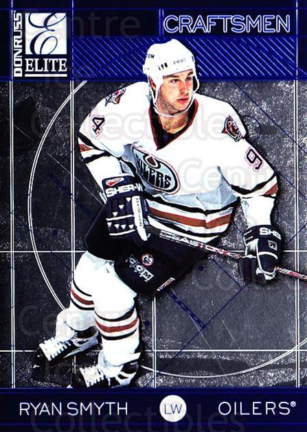 1997-98 Donruss Elite Craftsmen #21 Ryan Smyth<br/>4 In Stock - $3.00 each - <a href=https://centericecollectibles.foxycart.com/cart?name=1997-98%20Donruss%20Elite%20Craftsmen%20%2321%20Ryan%20Smyth...&quantity_max=4&price=$3.00&code=56663 class=foxycart> Buy it now! </a>