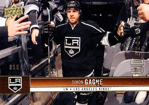 2012-13 Upper Deck UD Exclusives #81 Simon Gagne<br/>1 In Stock - $5.00 each - <a href=https://centericecollectibles.foxycart.com/cart?name=2012-13%20Upper%20Deck%20UD%20Exclusives%20%2381%20Simon%20Gagne...&quantity_max=1&price=$5.00&code=566650 class=foxycart> Buy it now! </a>