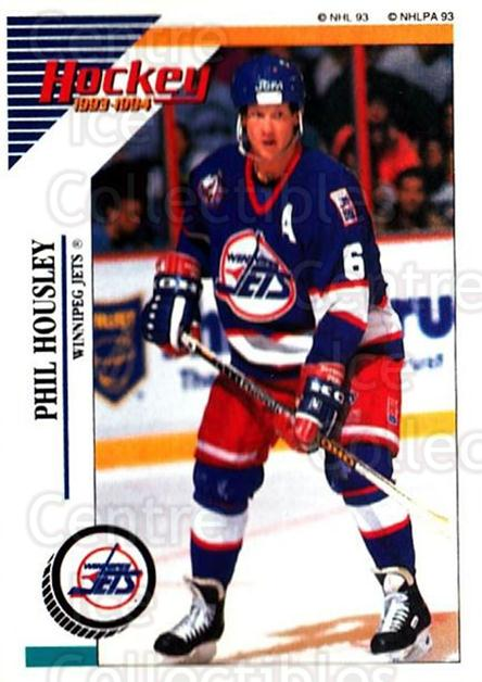 1993-94 Panini Stickers #196 Phil Housley<br/>6 In Stock - $1.00 each - <a href=https://centericecollectibles.foxycart.com/cart?name=1993-94%20Panini%20Stickers%20%23196%20Phil%20Housley...&quantity_max=6&price=$1.00&code=5666 class=foxycart> Buy it now! </a>