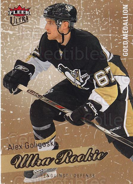 2008-09 Ultra Gold #203 Alex Goligoski<br/>1 In Stock - $5.00 each - <a href=https://centericecollectibles.foxycart.com/cart?name=2008-09%20Ultra%20Gold%20%23203%20Alex%20Goligoski...&quantity_max=1&price=$5.00&code=567093 class=foxycart> Buy it now! </a>
