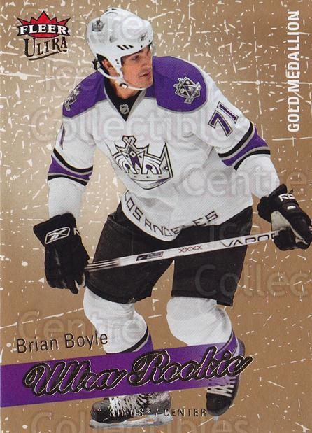 2008-09 Ultra Gold #209 Brian Boyle<br/>1 In Stock - $5.00 each - <a href=https://centericecollectibles.foxycart.com/cart?name=2008-09%20Ultra%20Gold%20%23209%20Brian%20Boyle...&quantity_max=1&price=$5.00&code=567099 class=foxycart> Buy it now! </a>