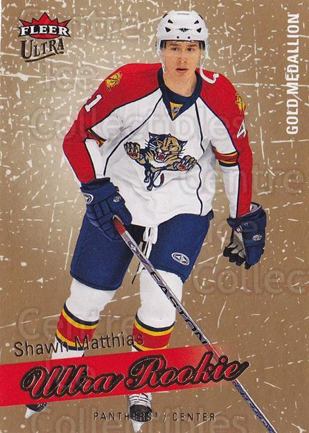 2008-09 Ultra Gold #210 Shawn Matthias<br/>1 In Stock - $5.00 each - <a href=https://centericecollectibles.foxycart.com/cart?name=2008-09%20Ultra%20Gold%20%23210%20Shawn%20Matthias...&quantity_max=1&price=$5.00&code=567100 class=foxycart> Buy it now! </a>