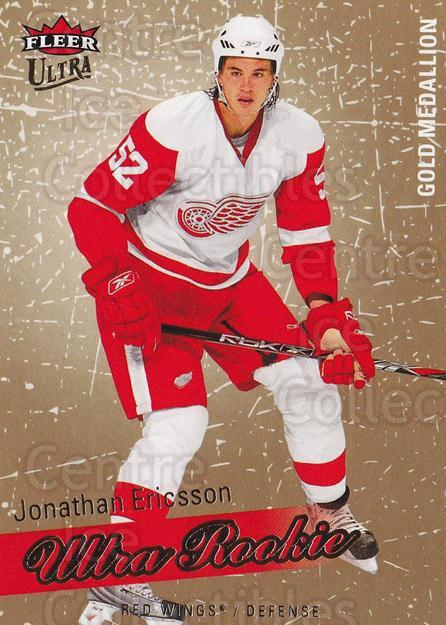 2008-09 Ultra Gold #216 Jonathan Ericsson<br/>1 In Stock - $5.00 each - <a href=https://centericecollectibles.foxycart.com/cart?name=2008-09%20Ultra%20Gold%20%23216%20Jonathan%20Ericss...&quantity_max=1&price=$5.00&code=567106 class=foxycart> Buy it now! </a>