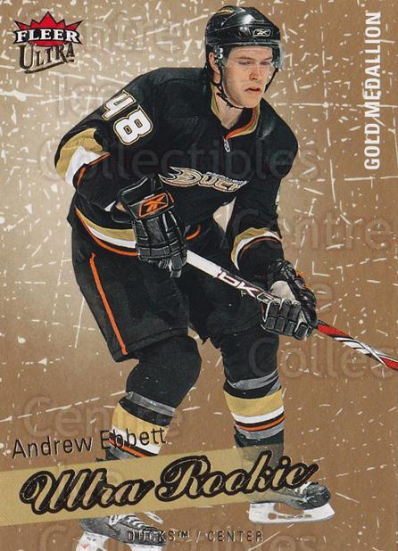 2008-09 Ultra Gold #224 Andrew Ebbett<br/>1 In Stock - $5.00 each - <a href=https://centericecollectibles.foxycart.com/cart?name=2008-09%20Ultra%20Gold%20%23224%20Andrew%20Ebbett...&quantity_max=1&price=$5.00&code=567114 class=foxycart> Buy it now! </a>