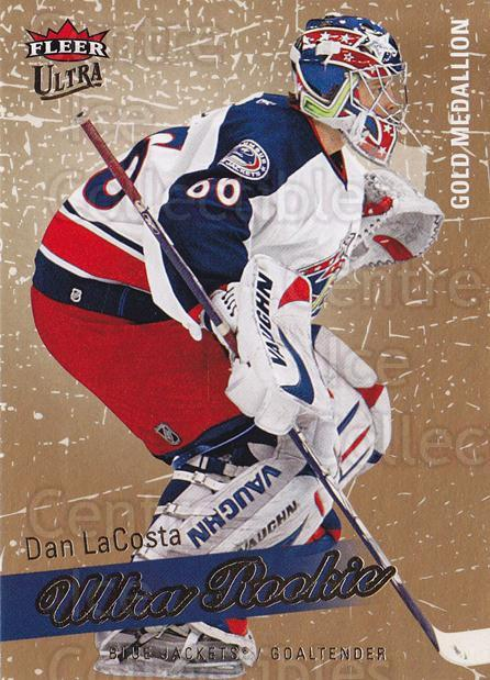 2008-09 Ultra Gold #227 Dan LaCosta<br/>1 In Stock - $5.00 each - <a href=https://centericecollectibles.foxycart.com/cart?name=2008-09%20Ultra%20Gold%20%23227%20Dan%20LaCosta...&quantity_max=1&price=$5.00&code=567117 class=foxycart> Buy it now! </a>