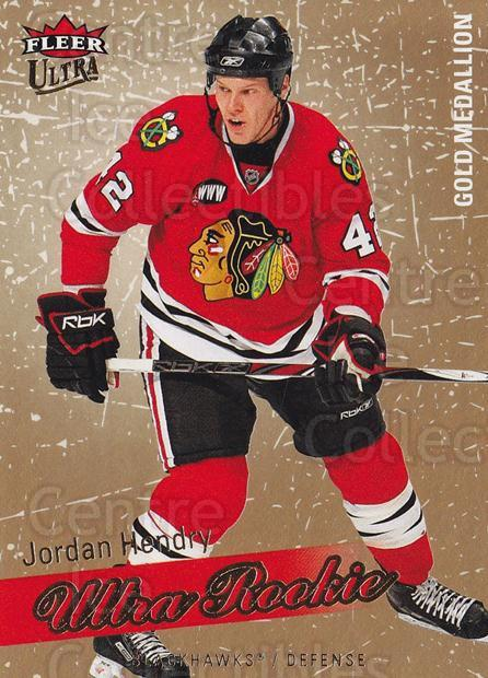 2008-09 Ultra Gold #231 Jordan Hendry<br/>1 In Stock - $5.00 each - <a href=https://centericecollectibles.foxycart.com/cart?name=2008-09%20Ultra%20Gold%20%23231%20Jordan%20Hendry...&quantity_max=1&price=$5.00&code=567121 class=foxycart> Buy it now! </a>