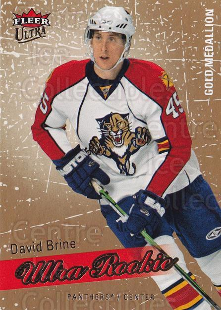 2008-09 Ultra Gold #234 David Brine<br/>1 In Stock - $5.00 each - <a href=https://centericecollectibles.foxycart.com/cart?name=2008-09%20Ultra%20Gold%20%23234%20David%20Brine...&quantity_max=1&price=$5.00&code=567124 class=foxycart> Buy it now! </a>
