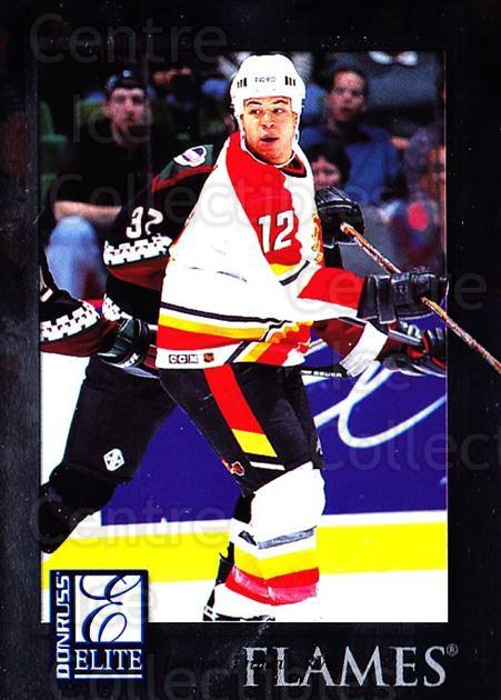 1997-98 Donruss Elite #13 Jarome Iginla<br/>5 In Stock - $1.00 each - <a href=https://centericecollectibles.foxycart.com/cart?name=1997-98%20Donruss%20Elite%20%2313%20Jarome%20Iginla...&quantity_max=5&price=$1.00&code=56713 class=foxycart> Buy it now! </a>